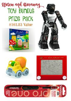 Enter to win a Toy Bundle Prize pack with something for all ages!