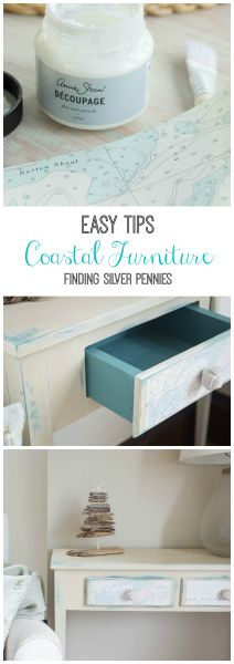 Easy Tips for creating Coastal Furniture