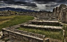 Salona amphitheater, today Solin