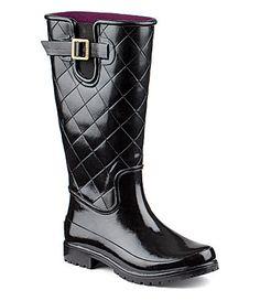 Sperry TopSider Pelican III Quilted Rain Boots #Dillards