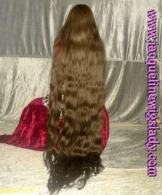 darkbrown Floorlength Hair wig