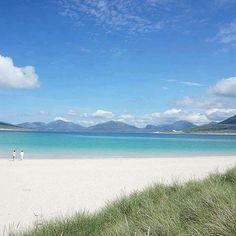 Horgabost Beach looking Carribean on the Isle of Harris