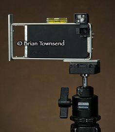 brian townsend iphone case, diy iphone case, diy iphone tripod, iphone 5 tripod, iphone viewer