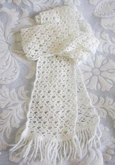 shell scarf free pattern