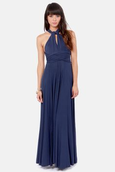 Love this dress from Lulu's. Not sure if I could pull off every style, but I like that the straps can be changed and the color is great too! I think it would work well both formally or casually