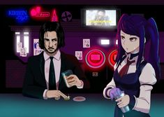 Steam Community :: Hall-A: Cyberpunk Bartender Action Read Only Memory, Adventure Games, Anime Artwork, Indie Games, Bartender, Cyberpunk, Game Art, Action, Crossover