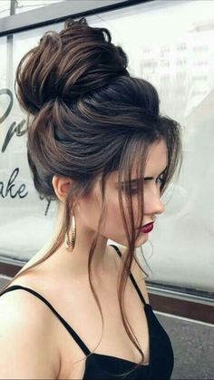 32 Most Romantic Updos for Long Hair  #elegant #formal #hair #long #prom #updo #wedding