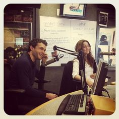 Alice Englert and Alden Ehrenreich (Beautiful Creatures) on JAMN945