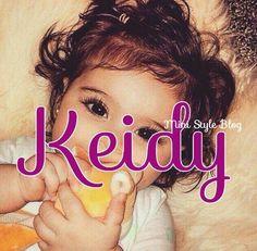 Baby Girl Name: Keidy Cute Baby Girl Names, Little Girl Names, Unique Baby Names, Boy Names, 2 Baby, My Baby Girl, Baby Fever, Pretty Names, Cute Names