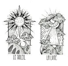 Thigh Tat, Fairytale Art, Sun Moon, Follow Me On Instagram, Traditional Tattoo, Tattoo Inspiration, Fashion Art, Tatting, Fairy Tales