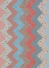 Free Pattern for Zigzag Flannel Baby Quilt