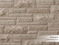 Laurier Building Stone - Mahogany