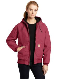 Amazon.com: Carhartt Women's Sandstone Duck Quilt Flannel Lined Active Jacket: Clothing Large $64