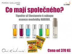 Medvídci jako dárek k nákupu esence. #MariaGalland #SlimFOX #HARIBO White Out Tape