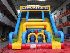 Inflatable vertical rush slide for kids (dual lanes and tunnels) Minion Inflatable, Inflatable Slide, Inflatable Obstacle Course, Kids Slide, Pink Dragon, Ghost Ship, All Kids, Fire Trucks, Farm Animals