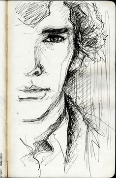 Sherlock FanArt I have always struggled with the pen, I admire those who draw with it...