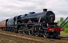 45231 The Sherwood Forester Old Steam Train, Flying Scotsman, Steam Railway, British Rail, Steam Engine, Steam Locomotive, Transportation, Engineering, Journey
