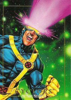 Cyclops 1992 Marvel Masterpieces