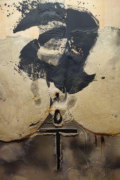 "grafurii: ""Antoni Tapies, Principio, (Beginning) "" Tachisme, Henri Matisse, Art Espagnole, Abstract Expressionism, Abstract Art, Illustration Arte, Modern Art, Contemporary Art, Surrealism"