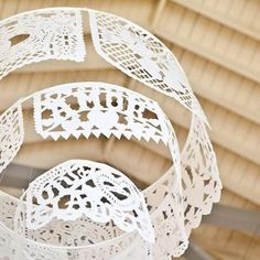 papel picado chandelier
