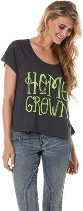 Seriously have to have this shirt! <3BILLABONG HOME GROWN TEE Image