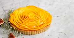 Constellation Inspiration: Mango Rose Tart with Crème Chantilly