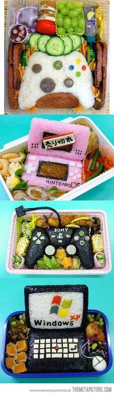 Quando acho que já vi tudo encontro 'video game food art'
