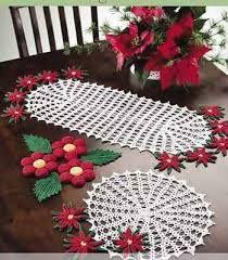 resultado de imagen para tejidos a crochet para navidad