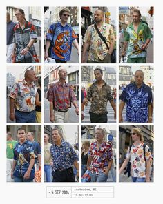 Photo Note, 5 September Amsterdam, NL, Photo: Hans Eijkelboom/Courtesy of Phaidon Cool Street Fashion, Street Style, Evolution Of Fashion, Sartorialist, Printed Jumpsuit, People Dress, Street Photo, Fashion Editor, 20 Years