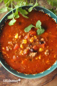 Tasty, Yummy Food, Salsa, Mexican, Ethnic Recipes, Impreza, Chili Con Carne, Delicious Food, Salsa Music