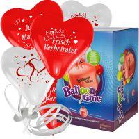 Sets - Herzballons mit Motiv