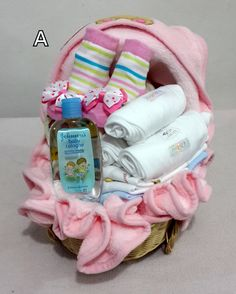 parcel Bear baby pink