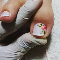 Toe Nail Color, Toe Nail Art, Toe Nails, Nail Colors, Pedicure Nail Art, Mani Pedi, Toe Nail Designs, Pretty Toes, Nail Decorations