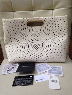 Chanel Paternt Leather Large White Tote Bag. Get one of the hottest styles of the season! The Chanel Paternt Leather Large White Tote Bag is a top 10 member favorite on Tradesy. Save on yours before they're sold out!