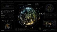 Futuristic UI, design/animation: Eric Schira, music: Thom Yorke ...