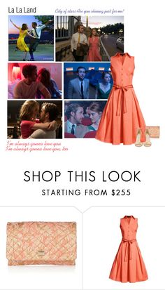 """""""La La Land"""" by helenelle ❤ liked on Polyvore featuring Dolce&Gabbana, Rumour London and Jimmy Choo"""