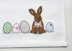Stickdatei+Hase+mit+Ostereiern+13x18+Ostern+Doodle+von+Stickherz+++auf+DaWanda.com