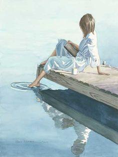 Stillness.   Pamela Alderman