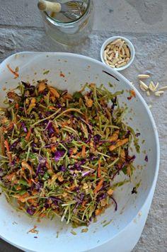 Asian Quinoa Broccoli Slaw : Mountain Mama Cooks