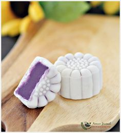 Purple Sweet Potato Snowskin Mooncakes 紫薯冰皮月饼 ~ 2015 | Anncoo Journal - Come for Quick and Easy Recipes