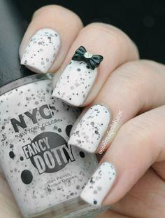 NYC  - Fancy Dotty - Greenwich Goddess 2 | Eeeek! Nail Polish!