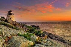Castle Hill Lighthouse, Newport