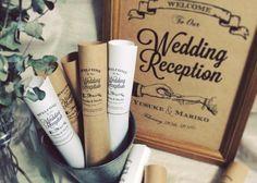 結婚式のおしゃれペーパーアイテムがオーダー出来るアワンズ