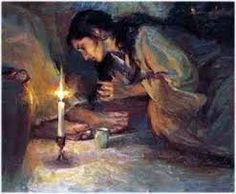 September 18th - Luke 7:36-50: A certain Pharisee invited Jesus to dine with him, and he entered the Pharisee's house and reclined at table. Now there was a sinful woman in the city who learned that he was at table in the house of the Pharisee. Bringing an alabaster flask of ointment, she stood behind him at his feet weeping and began to bathe his feet with her tears.
