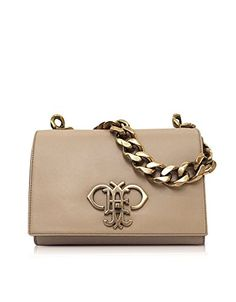 EMILIO PUCCI Emilio Pucci Women'S Beige Leather Shoulder Bag. #emiliopucci #bags…