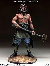 Berserk 9-10 siglos, soldado de juguete de estaño 54 mm, figura, escultura pintada a mano