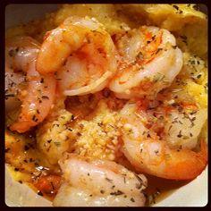 レシピとお料理がひらめくSnapDish - 3件のもぐもぐ - Creamy Shrimp & Grits by Chef Nichole Adriane