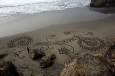 She said no... because he's a beach painter and there's no money in it.