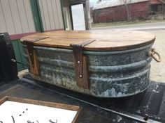 home furniture livestock water trough turned coffee table, home maintenance repairs, painted furniture, ponds water features Repurposed Furniture, Rustic Furniture, Painted Furniture, Home Furniture, Antique Furniture, Outdoor Furniture, Furniture Stores, Cheap Furniture, Kitchen Furniture
