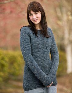 Comfy Boyfriend Crochet Sweater Pattern